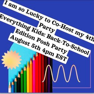 I am Co-Hosting my 4th Party! Back to School Party